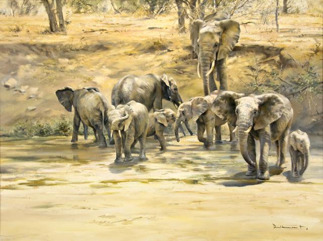 , 'Elephant Heaven,' , Guarisco Gallery