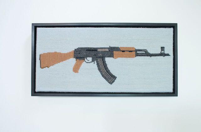 , 'AK47,' 2017, Ro2 Art