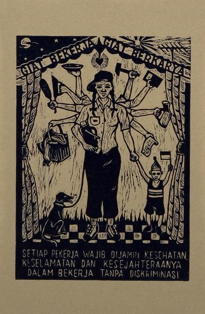 , 'Giat Bekerja Giat Berkarya (Hard Working, Enterprising Work),' 2004, Para Site