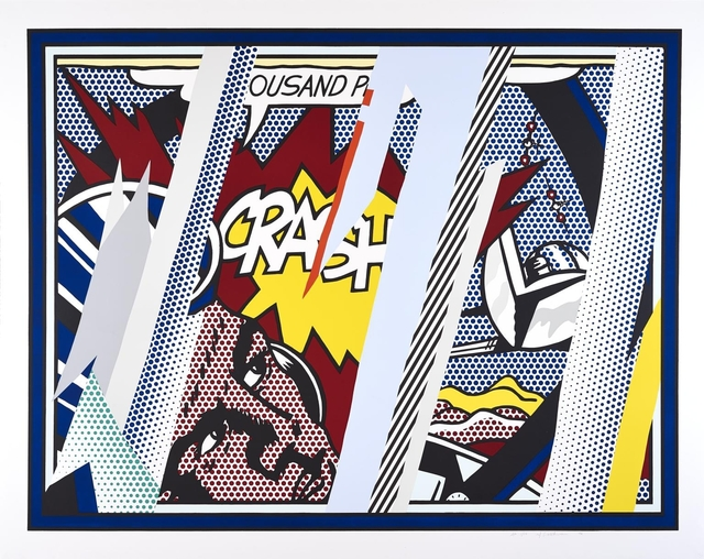 Roy Lichtenstein, 'Reflections on Crash', 1990, QG Gallery
