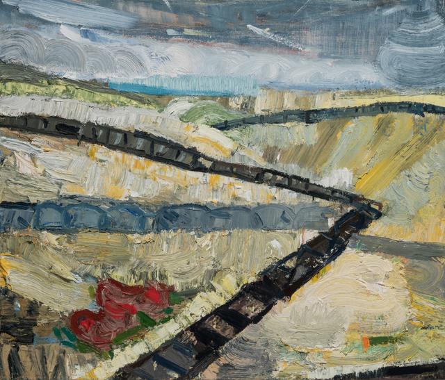, 'Endless Boardwalk,' 2017, Paul Thiebaud Gallery