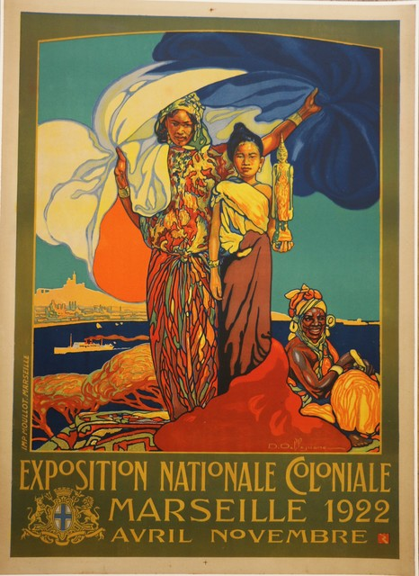 , 'Poster for the 1922 Marseille Colonial Show by D. Dellepiane, Art Deco, France,' 1921, Avant-Garde Gallery