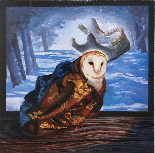 Thomas John Carlson, 'Owl', 2015, Deep Space Gallery