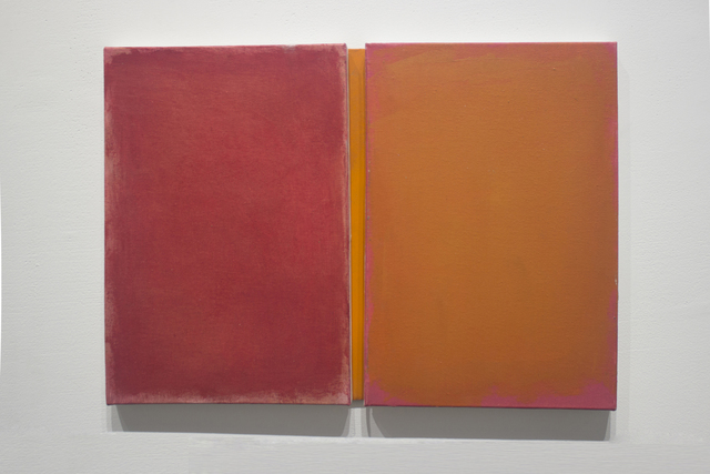, 'Just Together Red and Orange  ,' 2019, Josée Bienvenu