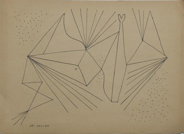 , 'Untitled,' 1958, Galería de las Misiones