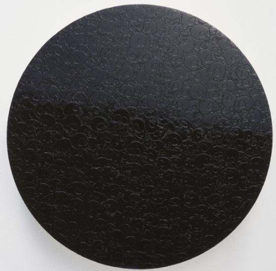 , 'Black Glitter,' 2016, Maddox Gallery