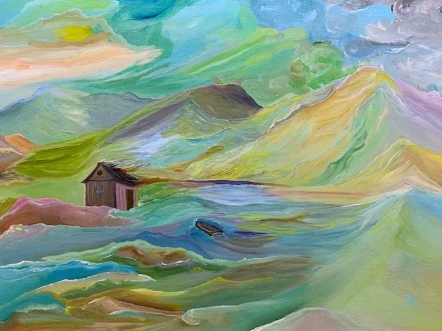 , 'The Little Boat,' 2017, bG Gallery