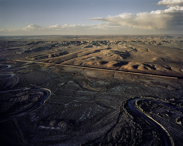 , 'Union Pacific Freight Train Heading West, Near Rock Springs, WY,' 2007, Danziger Gallery