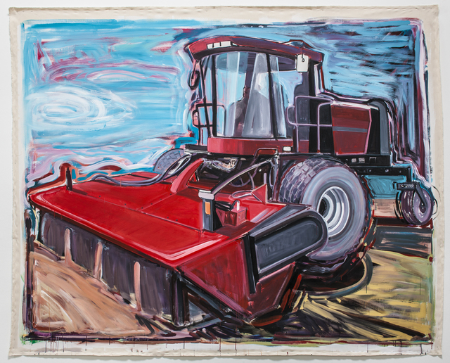 , 'Case International Swather,' 2013, Rosamund Felsen Gallery