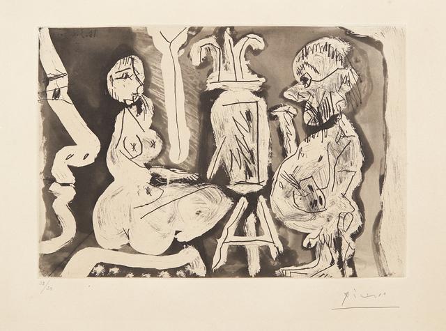 Pablo Picasso, 'Peintre et son modèle (Painter and his Model)', 1965, Phillips