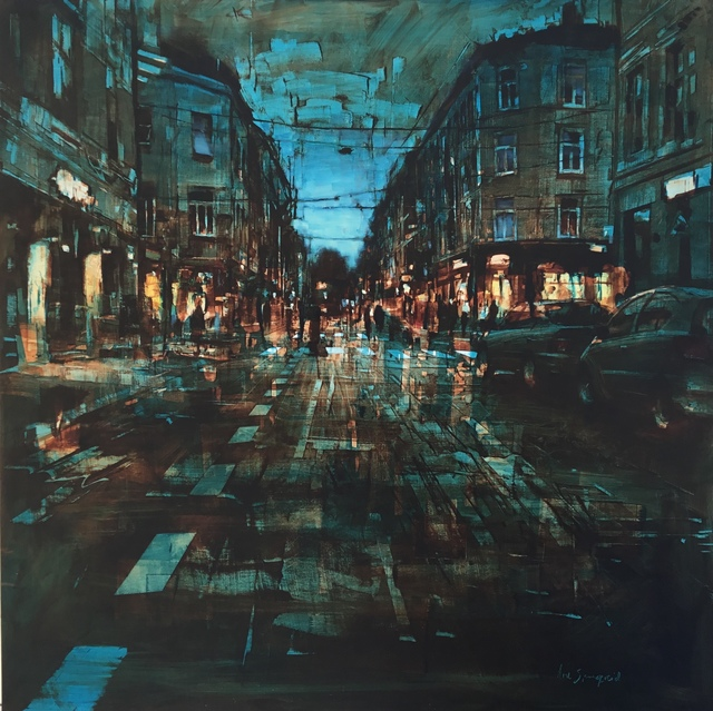 , 'Oslo Street,' 2019, GALLERI RAMFJORD