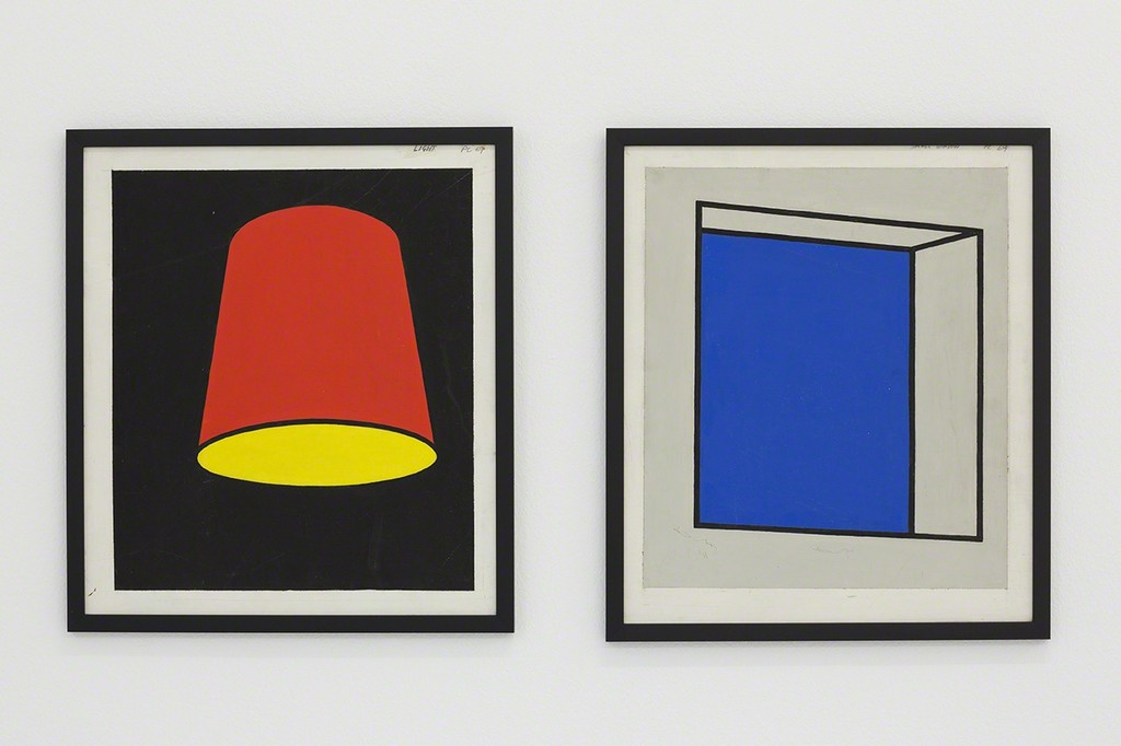 Patrick Caulfield, Lampshield, 1969 and Small Window, 1969,