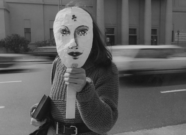 , 'Untitled. Liliana Maresca in front the National Museum of Fine Arts, Buenos Aires,' 1984, Rolf Art