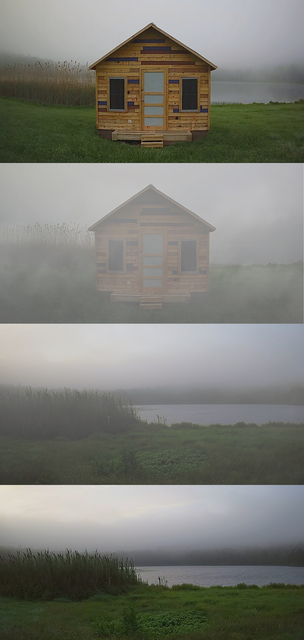 , 'When the Smoke Clears (4 stills from camera 2),' 2016, Smack Mellon