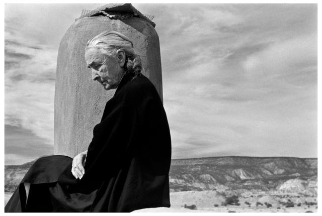 , 'GEORGIA O'KEEFFE, GHOST RANCH, NEW MEXICO.,' 1967, Photography Collections Preservation Project