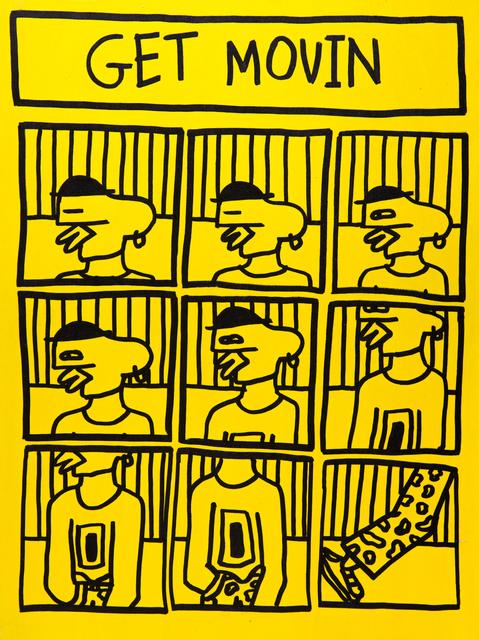 , 'Yellow 4,' 2018, ABXY