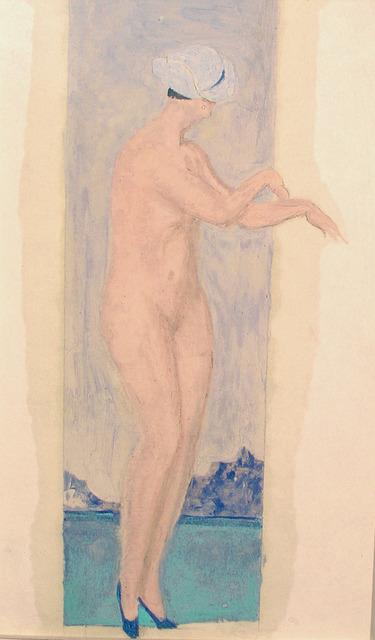 Alfons Walde, 'Bathing Woman', Galerie Bei Der Albertina Zetter