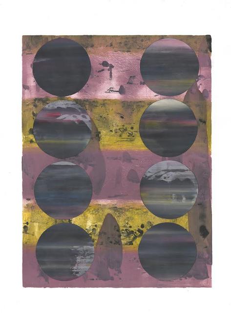 , 'Paper Moon II,' , Chicago Art Source