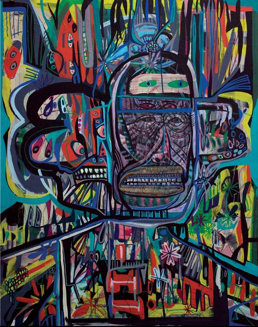 , 'Ghost Walker 1,' 2017, Galerie Matthew Namour