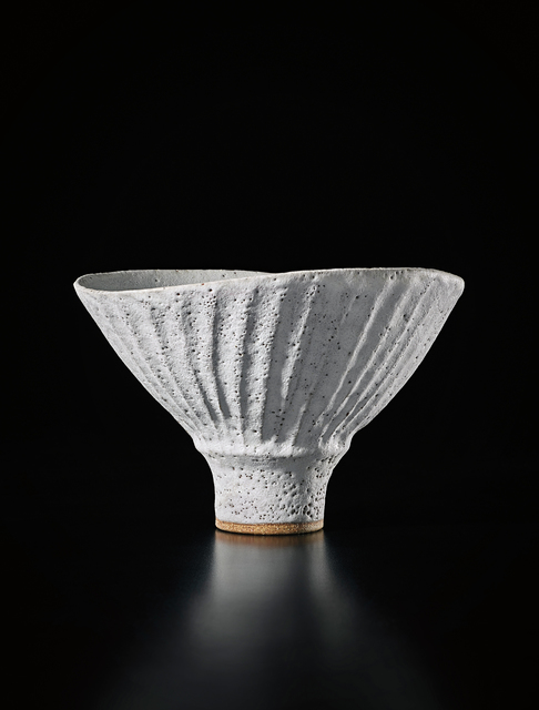 Lucie Rie, 'Oval bowl with fluted sides', ca. 1980, Phillips