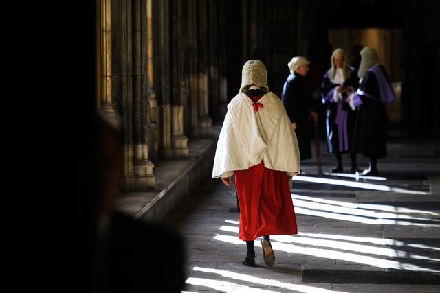 , 'Judges Service at Westminster Abbey,' 2016, Getty Images Gallery