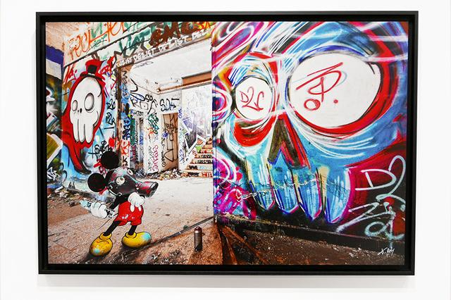 , 'Mickey Graffeur,' 2019, Design by Jaler