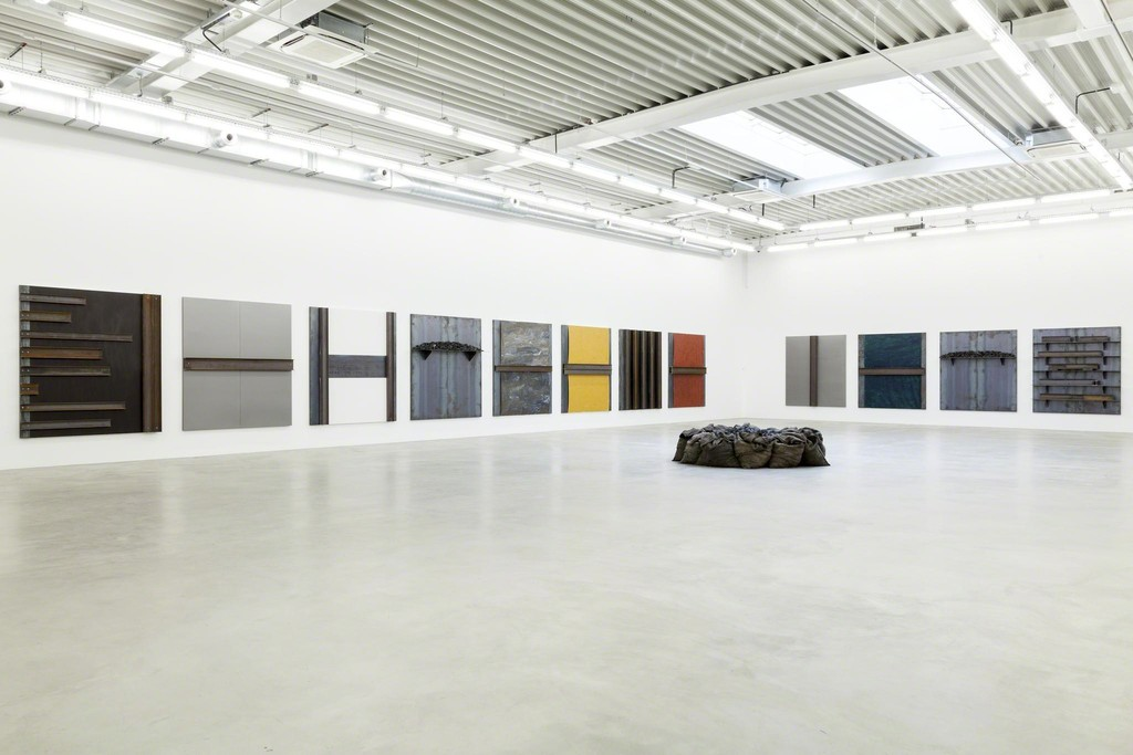 Jannis Kounellis at Almine Rech Gallery in Brussels 