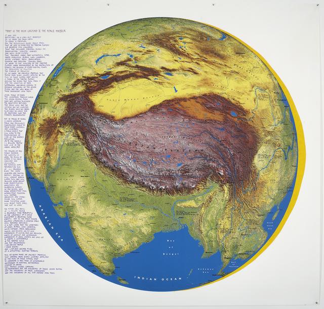 , 'Tibet is the High Ground II,' 2009, Ronald Feldman Gallery