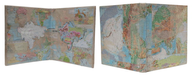 , 'The Cartographer's Paradox,' 2013, Gallery Espace