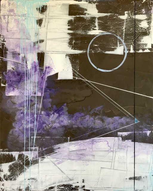 , 'Moonbeams Kiss the Sea, New Moon | Metamorphosis Series,' 2019, Artsivana Contemporary