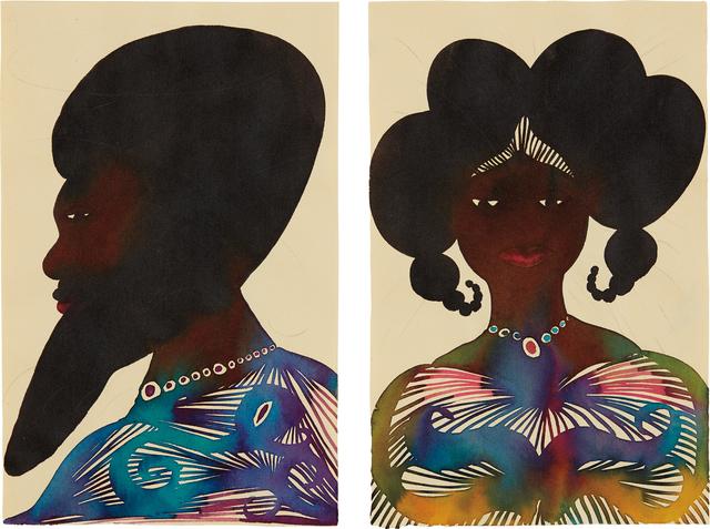 Chris Ofili, 'Untitled', 2000, Phillips