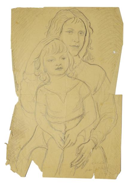 Marie Vorobieff Marevna, 'Mother and Child', 1943, Roseberys