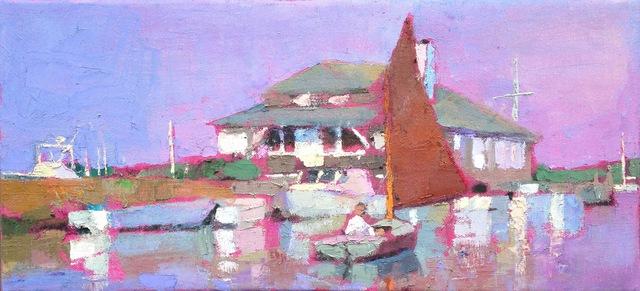 , 'Setting Sail, Edgartown,' 2010-2017, Eisenhauer Gallery