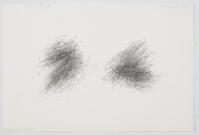 , 'Without title (Walking Drawing, 9.30.12 St. John's),' 2012, Galerie Jocelyn Wolff