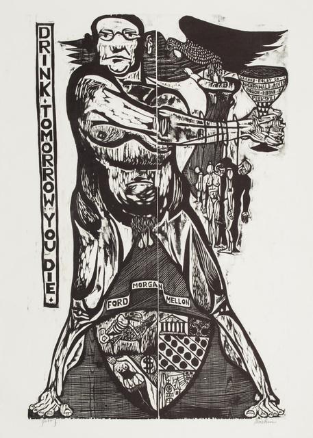 , 'Drink, Tomorrow You Die,' ca. 1949, Galerie St. Etienne