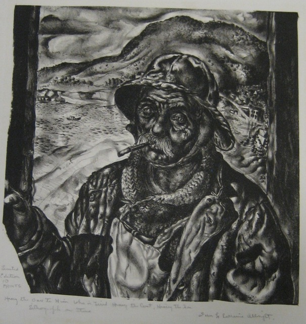 , 'Heavy the Oar to Him Who is Tired, Heavy the Coat, Heavy the Sea,' 1939, Paramour Fine Arts