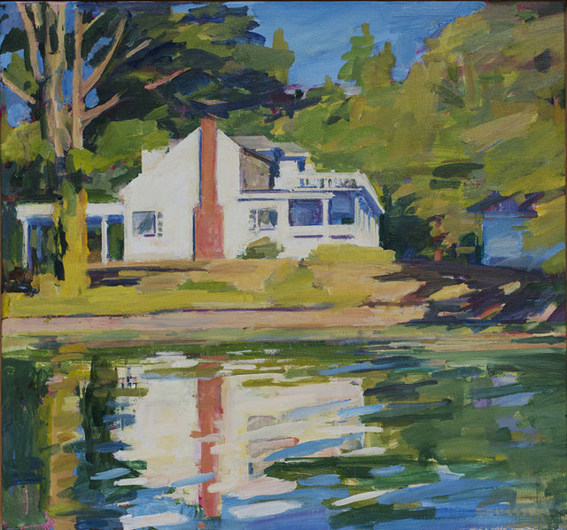Kurt Solmssen, 'Gwen's House from the Boat', 2018, Linda Hodges Gallery