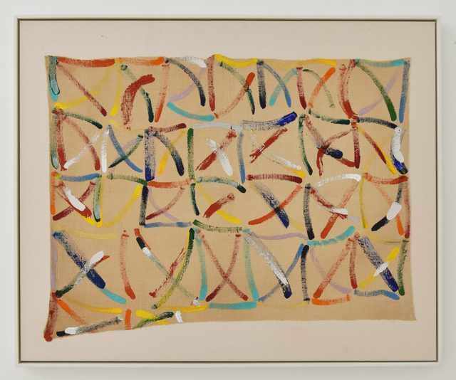 Allen Maddox, 'Untitled', undated, Painting, Oil on hessian, Gow Langsford Gallery