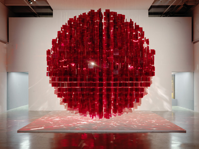 , 'Continuel Mobile - Sphère rouge,' 2001-2013, Bugada & Cargnel
