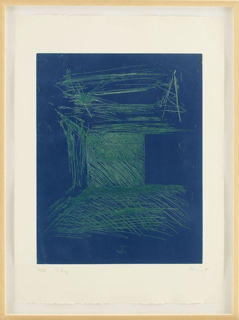, 'Günther Förg 1952-2013 Kunstraum München (complete portfolio of 10),' 1985, House of the Nobleman