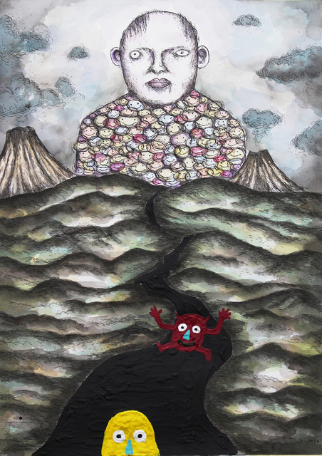 , 'Pachu is Exploring the Leviathan Mountain,' 2016, Christine Park Gallery