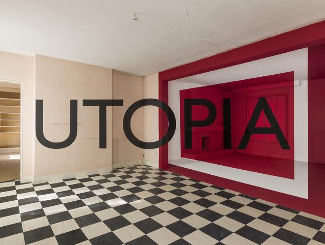 Georges Rousse | Utopia (2015) | Artsy