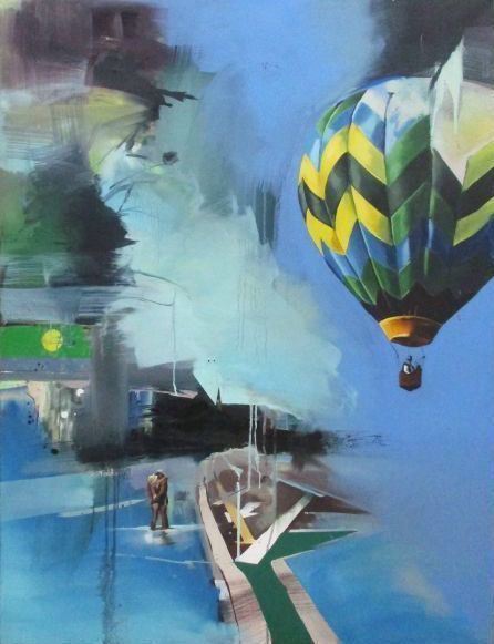 Chloe Early, 'Hot Air Balloon', 2008, Stowe Gallery