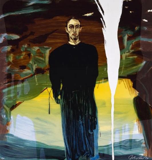 Julian Schnabel, 'JOSE LUIS FERRER', 1998, Kings Wood Art