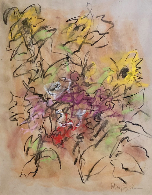 Mary Page Evans, 'Sunflowers', 2018, Somerville Manning Gallery