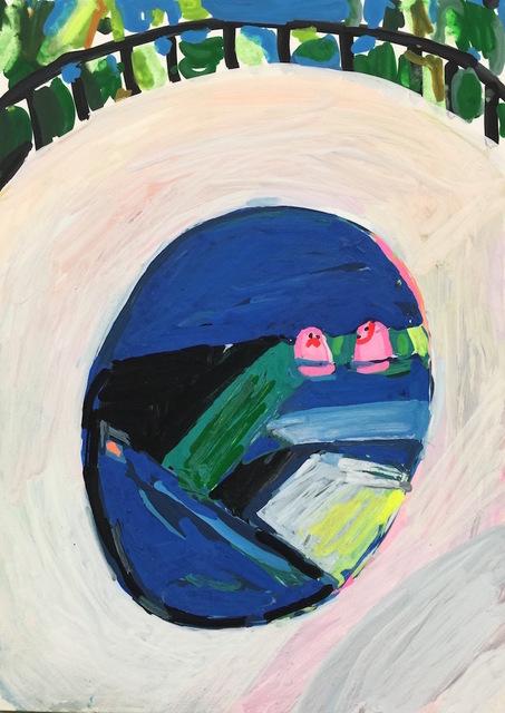 , 'Poolside #4,' 2017, HATHAWAY | Contemporary Gallery