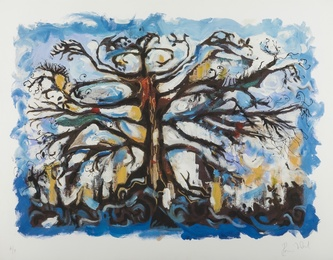 Ronnie Wood, 'Abstract Tree,' , Forum Auctions: Editions and Works on Paper (March 2017)