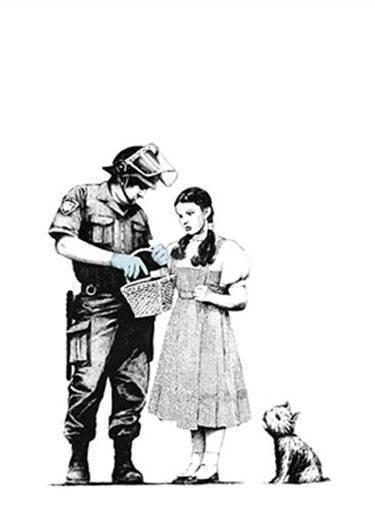 Banksy, 'Stop and Search', 2007, Puccio Fine Art