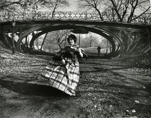 Bill Cunningham, 'Central Park bridge, New York', ca. 1968-1976, New York Historical Society