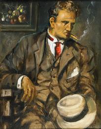 The Man Himself (Self-portrait)